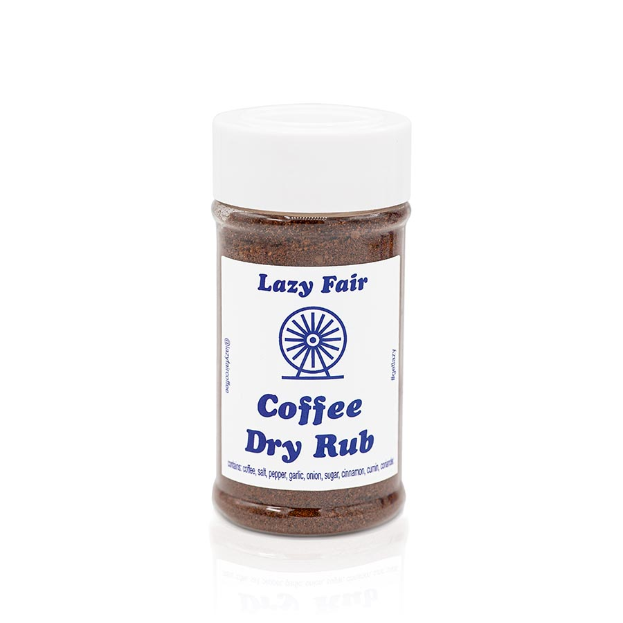 Lazy Fair Coffee Dry Rub